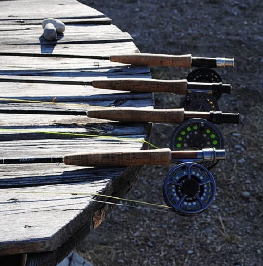 Rods On Table
