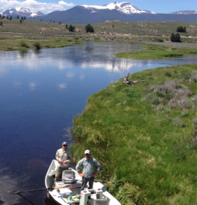 fishing guide on upper Big Hole River