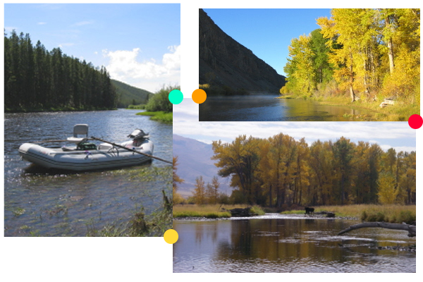 Wild & Scenic Big Hole River Vacation