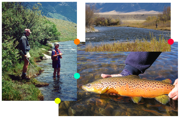Enjoy Big Sky country in the Madison Valley with one of our fly fishing guides
