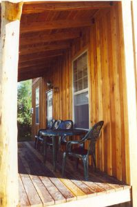 porch at dillon montana bed and breakfeast