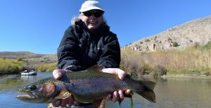 The Beaverhead River is the best wild trout fly fishing in the lower 48