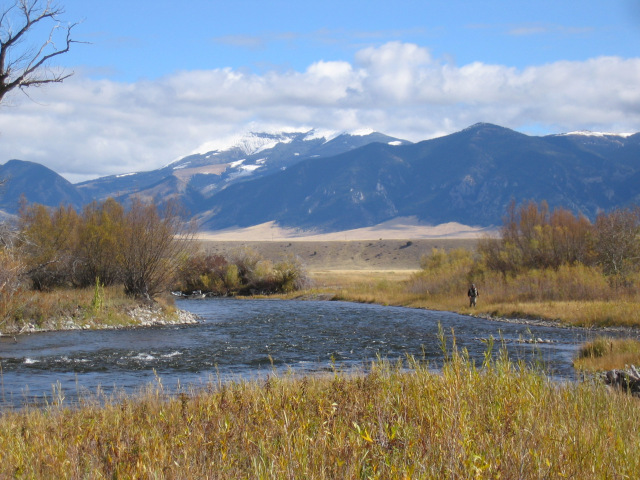Madison River below Varney Bridge