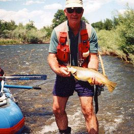 wet wading on the beaverhead river