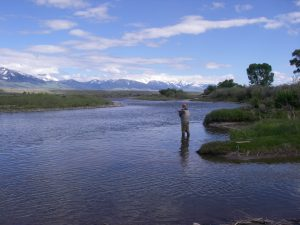 Upper Big Hole river Montana Fly Fishing Waters