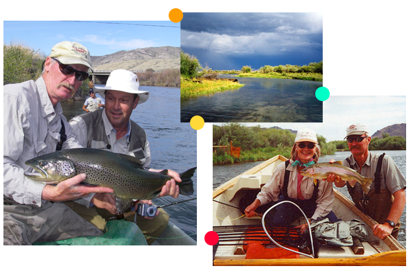 Explore Montana's Premier Brown Trout Fishing Rivers with Our Fly Fishing Guides.